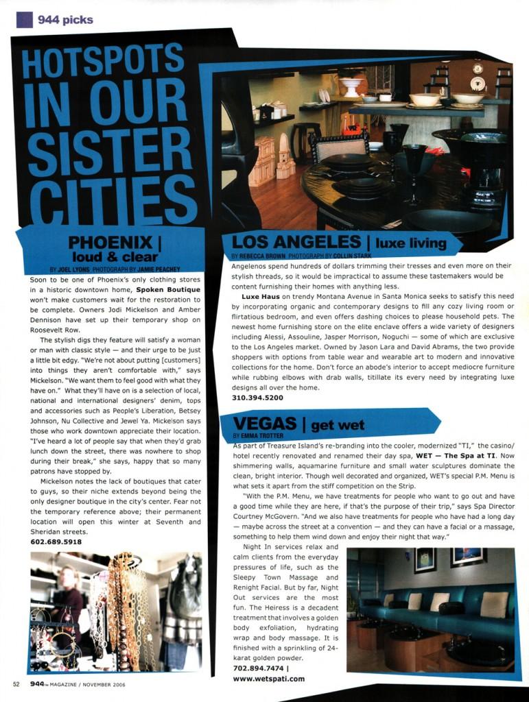 944 Magazine – Luxehaus