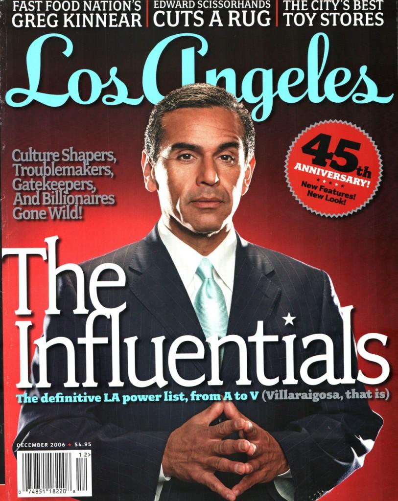 Los Angeles Magazine Luxehaus Cover
