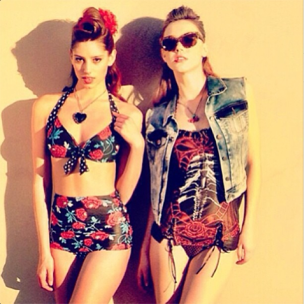 luxelab at The Glen Stylists Lisa and Chrissy Zogalis for Hot Topic Summer Campaign