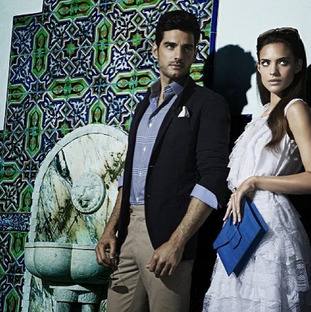 luxelab Stylist for Oscar De La Renta SS '13 mens campaign