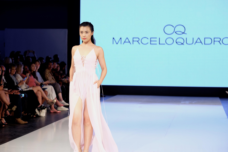 LAFW S/S17 Designer: Marcelo Quadro Lead Hair: Luxelab Creative Director Lauren Sill Photo: Liz Abrams