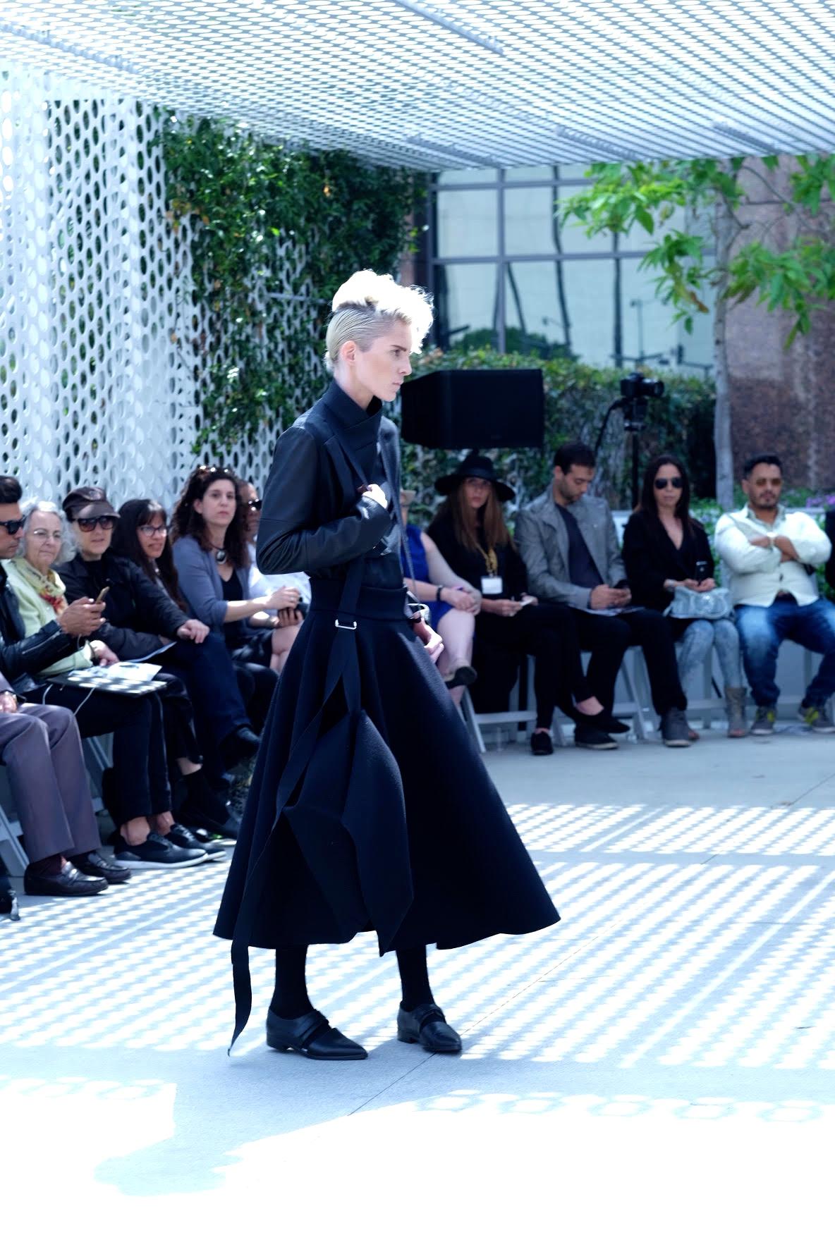 LAFW F/W16 Designer: Esther Perbandt Lead Hair: artLAB Senior Stylist Justin Woods Photo: Liz Abrams