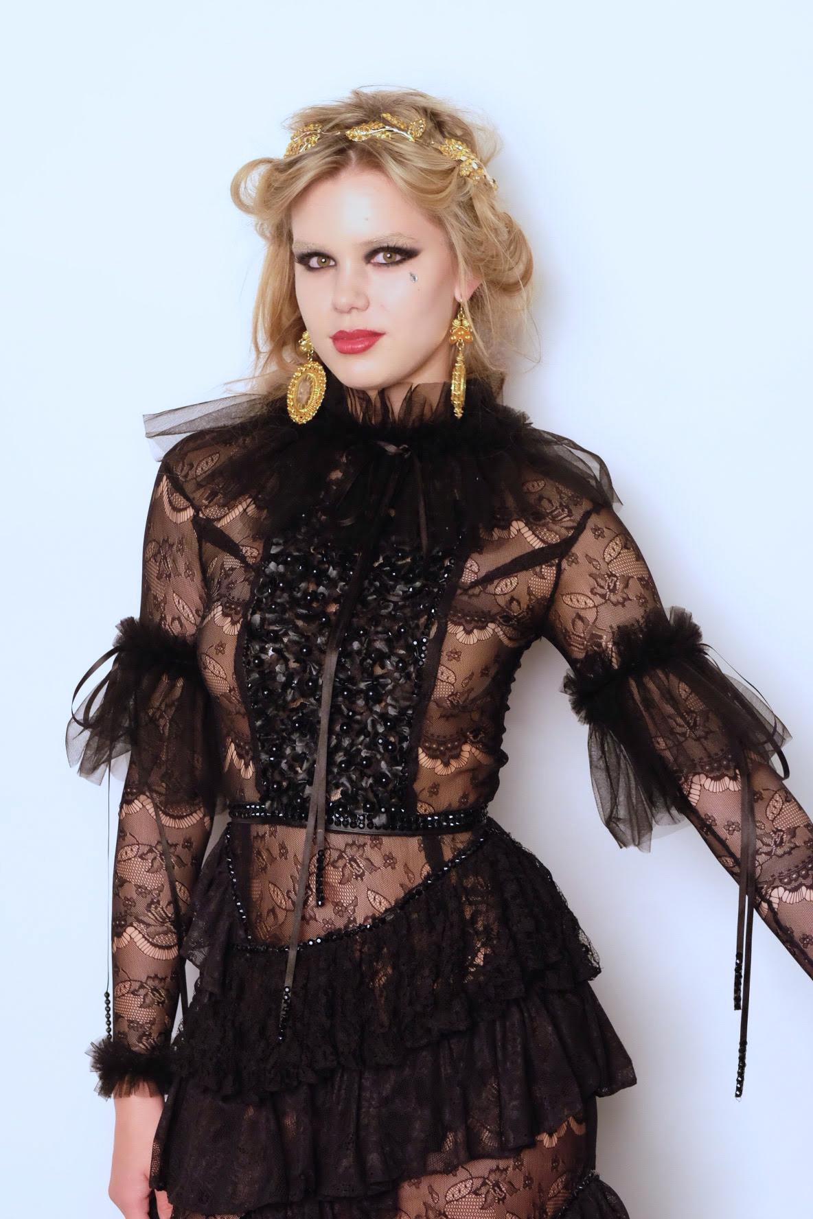 LAFW F/W16 Designer: Michael Sta Maria Lead Hair: Luxelab Bel Air Stylist Timothy Ro Photo: Liz Abrams