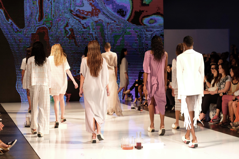 LAFW S/S17 Designer: Blond & Bieber Lead Hair: Luxelab Team Photo: Liz Abrams