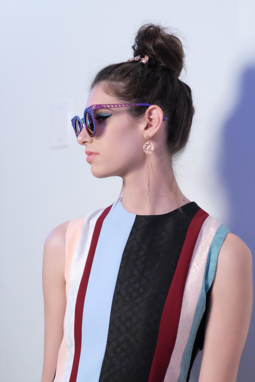 LAFW S/S17 Designer: Rinda Salmun Lead Hair: Luxelab Team Photo: Liz Abrams