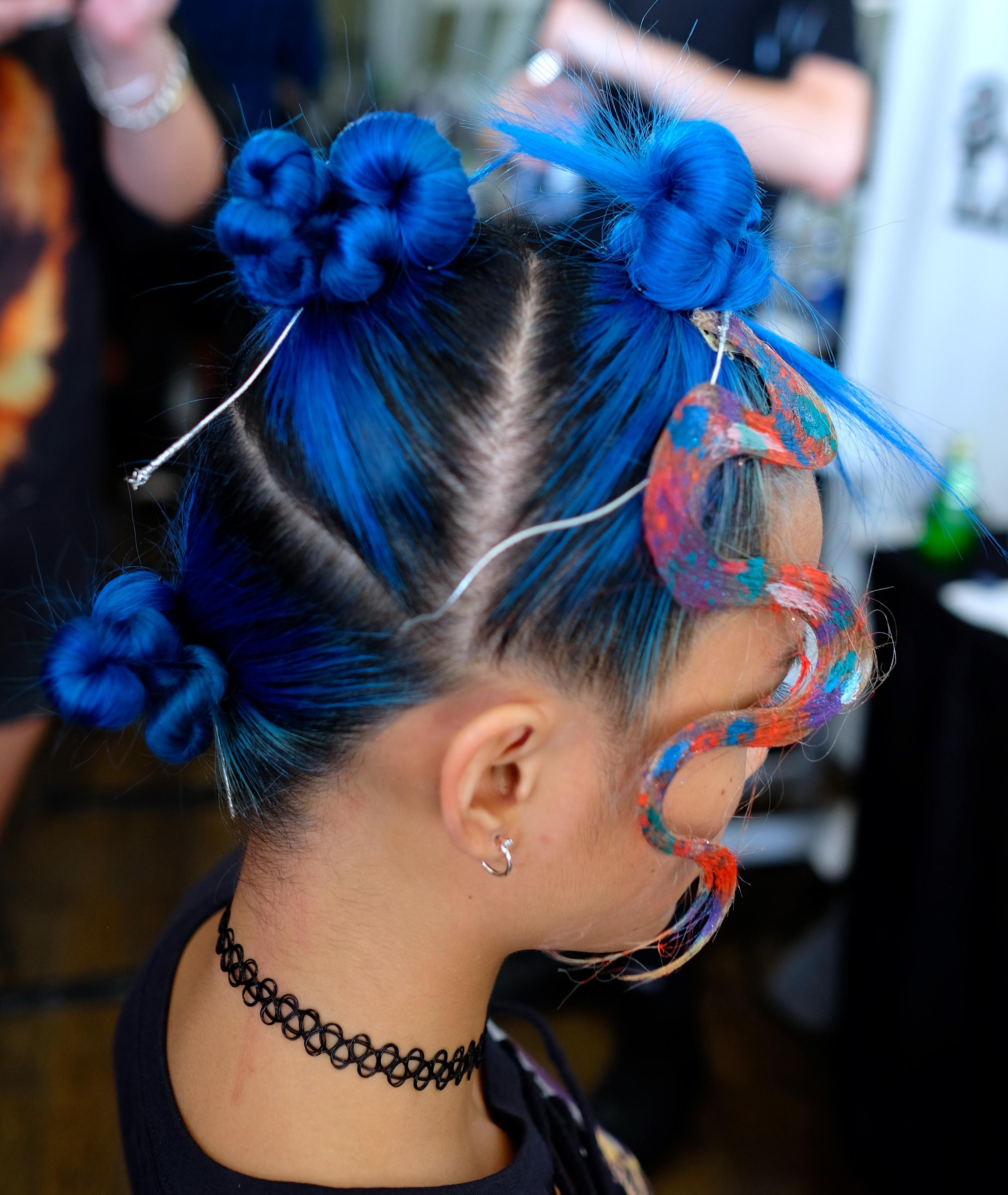 LAFW S/S17 Designer: Irishlatina Hair: Luxelab Hair Team Photo: Liz Abrams